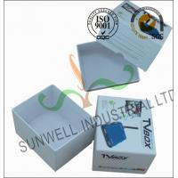 Quality Corrugated Coated Paper Electronics TV Packaging Boxes White Color Matt Lamination for sale