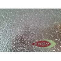 Quality Insulation High Moisture Aluminium Checker Plate , Embossed Aluminum Sheets for sale