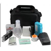 Waterproof Fiber Optic Tool Kits , Compact Fiber Connector Cleaning Kit