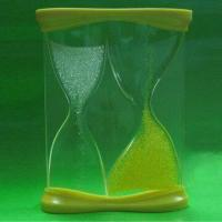 Quality Promotional Sand Timer, Customized Colors and Logos are Accepted for sale
