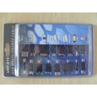 Quality USB multi-charge cable for i-phone 3G/3Gs/i-pod nano/touch/classic NEW! for sale
