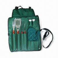 Quality Barbeque Set with Spatula, Fork and Tongs, Suitable for Promotional Purposes for sale