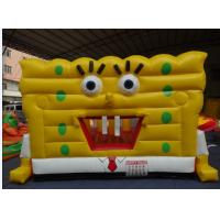 Quality PVC Inflatable Spongbob Bouncers for sale