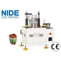 Quality AC Servo Motor Coil Insertion Machine / Semi-auto Stator Winding Insetiong Machine for sale
