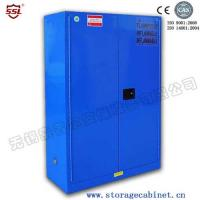 Quality Blue Chemical Liquid Sulfuric Corrosive Storage Cabinet Iron and steel weak corrosive chemicals for sale