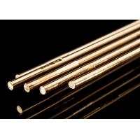 China Copper Alloy Brass Brazing Rod 4 Mm Welding Rod For Stainless Steel HS221 Model on sale