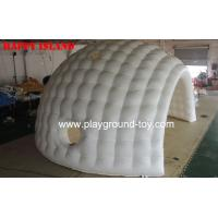 Quality Led Lights Inflatable Air Tent , Diameter 5m Inflatable Dome Tent for sale