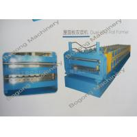 Quality Metal Roofing Sheet Double Layer Roll Forming Machine With Large Load Capacity for sale