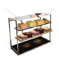 Buy metal clothes racks / garment display shelf at wholesale prices