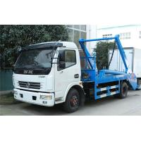 China Swing Arm Garbage Truck Carbon Steel Waste Transport With 5CBM Hopper For Choice on sale