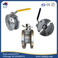 Quality ANSI-150 Stainless steel 304/316/316L clamp type ball valve with ISO5211 mounting pad hot sell for sale