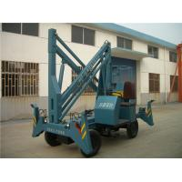 Quality Mobile Self Propelled Hydraulic Boom Lift 200kg Load 10 Mpa Diesel Boom Lifts for sale