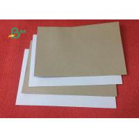 Quality Recycle pulp 250gsm 270gsm Thickness Duplex Board Whit Grey Back for sale