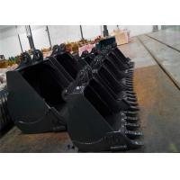 China Wearable Excavator Rock Bucket Digger Spare Parts 1- 8 Cubic Meter Anticorrosive on sale