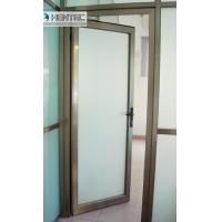 Quality 6082 T5 / T6  Aluminum Door Frames Champagne Anodized With finished Machining for sale