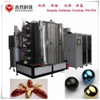 Quality Multi - Arcs Ion Glass Coating Machine High Vacuum For Glass Balls / Candle Holders for sale