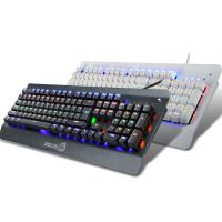 Quality Professional RGB Mechanical LED Backlit Keyboard With Floating Keys for sale