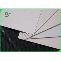 Recycled 1.5mm Grey Board Paper Strong Stiffness For Hard Book Covering