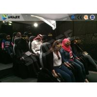 Quality Motion Cinema 5D Simulation System Customized Size 7100 X 3100 X 3000 Mm 9 Seats for sale