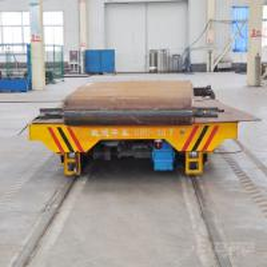 Quality workshop Low voltage railway transport rail car for steel plate handling for sale