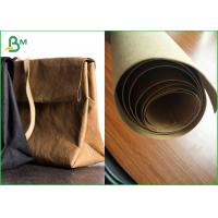 Quality Virgin And Natural Fabric Material Kraft Liner Paper For Handbags And Jeans for sale