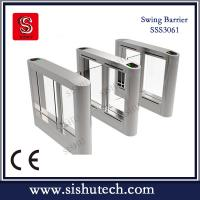 Buy cheap Alarm swing barrier with IR Sensor from Sishu access control factory from wholesalers