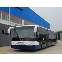 Quality 14m Picking up 120 passengers bus airport Ramp Bus Fully Aluminum for sale