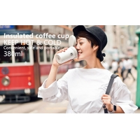 Quality Pink BSCI 380ml Vacuum Insulated Stainless Steel Travel Mug for sale