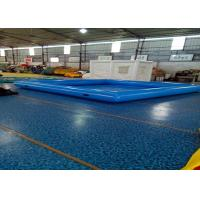 Quality Large Inflatable Swimming Pool With Waterproof Plato PVC Tarpaulin for sale