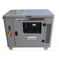 Small silent air cooled 7500w portable gasoline generator mobile genset engine single phase for sale