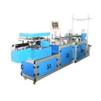 Quality High Speed Automatic Plastic PE / Non woven Bouffant Cap Making Machine for sale