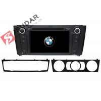 Quality 1 Series E81 / E82 / E87 BMW DVD GPS Navigation Android 6 Car Stereo Support 4G for sale