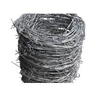 Quality 12x14 Hot Dipped Galvanized Barbed Wire Coil,  Security  Mesh Fence for sale