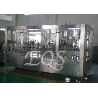 Quality 24 Filling Heads 4 In 1 Monoblock Pulp Juice Filling Machine for PET Bottle for sale