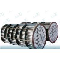 Buy cheap GR2 Astm b338 Titanium welded pipe for heat exchanger equipments from wholesalers