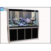 Buy Screen Porch Feng Shui Custom Fish Tanks Black / Red Aquarium Goldfish Bowl Ecological at wholesale prices