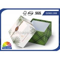 Quality Delicate Printing Design Lid / Base Paper Cardboard Gift Box Rigid Spot UV Surface for sale