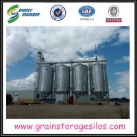 China Farm machinery bolted rice storage steel grain wheat silo for sale on sale