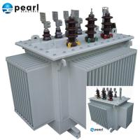 Quality High Efficiency Oil Immersed Transformer 11 kV - 3500 kVA Low Loss Low Noise for sale
