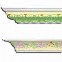 China Fireproof PU Carving Cornice Mouldings, Impervious to Insects/Termite on sale