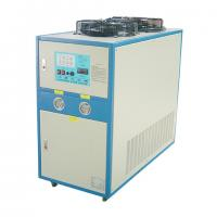 Quality 500kg Blue / White Industrial Water Chiller For Press Machine 7.5kw for sale
