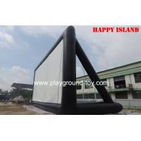 Quality Professional Cloth Kids Inflatable Bouncer Movie Screen , Inflatable Outdoor Screen For Events for sale
