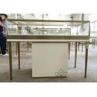 Quality Custom Logo Jewelry Retail Display Fixtures Stainless Steel Strong Frame for sale