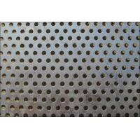 Quality Metal Plate 316l/304 round hole perforated stainless steel sheet for sale
