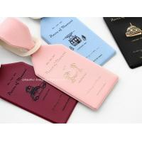 Buy cheap PVC Luggage Tags Labels ID Identifier Tag Travel Baggage Suitcase Label Ideal from wholesalers