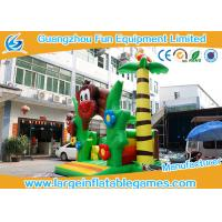 Buy cheap PVC Tarpaulin Monkey Jumping Inflatable Bouncy Castle With CE and TUV from wholesalers