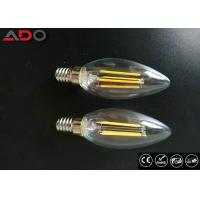 Quality Milky Glass Led Candle Light Bulbs C35 Eco Friendly For Amusement Park for sale