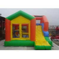 Quality Castle Type Inflatable Jumping Castle With Slide For kids Outdoor Amusement Park for sale