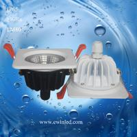 China 10W Waterproof/ bathroom IP65 10W interchangable bezel fire rated LED downlight on sale