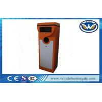 China Stainless Steel Parking Traffic Barrier Gate / Automatic Car Park Barriers Access Control on sale